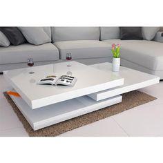 table basse de salon moderne | Idées de Décoration intérieure | French Decor