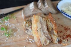 Fokhagymás sertésoldalas vákuum alatt #traditional #hungarian #food xpork #loin #porkloin #garlic ##kitchen #sousvide Sous Vide, Camembert Cheese, Pork, Bread, Kale Stir Fry, Brot, Baking, Breads, Pork Chops