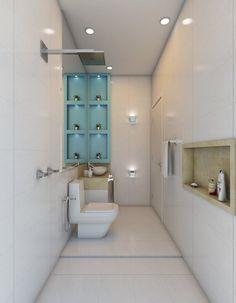 Finde moderne Badezimmer Designs von Caio Pelisson - Arquitetura e Design. Entdecke die schönsten Bilder zur Inspiration für die Gestaltung deines Traumhauses.