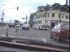 Rodovia Anchieta e cidade de Santos em 1988