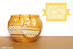 Make three pairs of earrings for less than a dollar! #tutorial #earrings