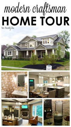 Gorgeous modern craftsman home tour!