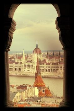 Budapest Parliament Oh The Places You'll Go, Places To Travel, Places Ive Been, Around The World Cruise, Amazing Places, Beautiful Places, Clc, Hungary, Budapest