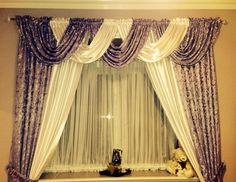 Luxury Silk Curtain Drapes Design For Living Room 2015 Jpg