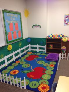 My classroom reading garden!!