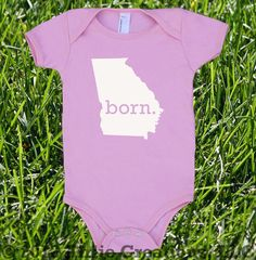 Hey, I found this really awesome Etsy listing at http://www.etsy.com/listing/123582336/georgia-home-state-born-unisex-baby