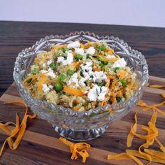 Pea, Carrot, and Quinoa Salad