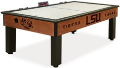 Use this Exclusive coupon code: PINFIVE to receive an additional 5% off the Louisiana State Tigers Air Hockey Table at SportsFansPlus.com