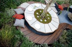 Designed by Ross U Landscape Design for the Japan Gardening World Cup. Second Place. Landscape Design, Garden Design, World Cup, Cool Designs, Home And Garden, Japan, Holiday Decor, Garden Layouts, Gardens