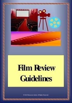 This resource can be used after students are taught film techniques. The information given in these sheets guides the students to write a film review considering the film techniques that they are required to cover in their review. Works great as it is engaging and interesting!Check out more quality, ready-to-use resources:More from Resources GaloreFollow me on:PinterestAnd/orFacebookCLICK on the green FOLLOW ME button and be the first to know when new resources become available!Thank you for…