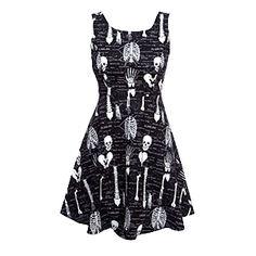 Glow-in-the-Dark Skeleton Dress - Exclusive | ThinkGeek