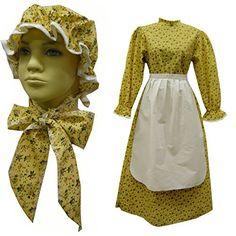 Little House Prairie Costume: Amazon.com