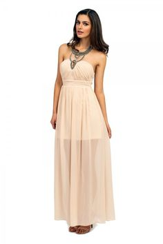 Peach wedding dress in the style of the Ancient Greeks.  They nae like the ladies though, quite a misogynist society they were by all accounts, so lets have the last laugh and wear a Grecian style gown to a modern wedding in all its splendour