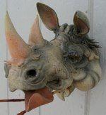 Rhinoceros pottery, Douglas Few.