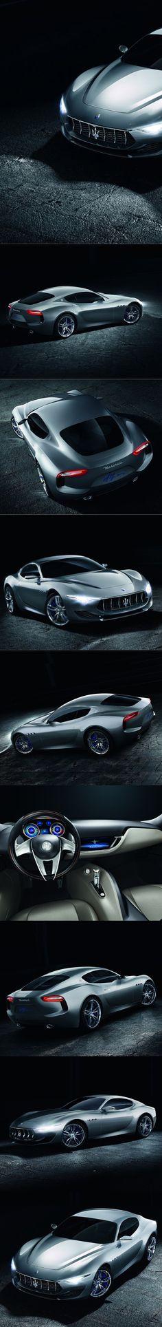 2014 Maserati Alfieri / Italy / concept / silver / 17-308