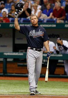 Chipper Jones Photo - Atlanta Braves v Tampa Bay Rays