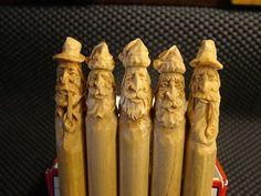 Cool idea.......carving clothespins