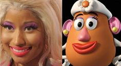Pretty close, but the potato head chick is prettier (and is WAY more talented)