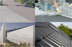 Our #Bionictile as one of the examples of photocatalytic porcelain coating for facades