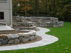 Antine Landscape_wall and pathway