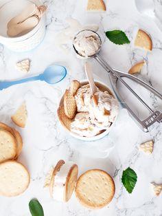 Helado de galleta maría casero, ¡empieza el verano!