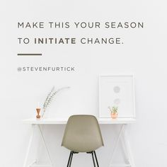 Make this your season to initiate change. God Is Good, Life Is Good, Steven Furtick Quotes, Motivational Quotes, Inspirational Quotes, You Are Smart, Worth Quotes, You Are Important, Speak Life