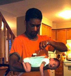 Non lasciare i figli soli con il babbo (19 Foto)