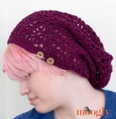 Fortune's Hat: FREE one skein crochet pattern on Mooglyblog.com!