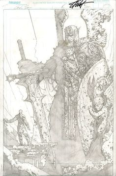 Soul Saga by Stephen Platt Comic Book Pages, Comic Book Artists, Comic Artist, Comic Books Art, Saga Comic, Art Sketches, Art Drawings, Soul Saga, Character Art