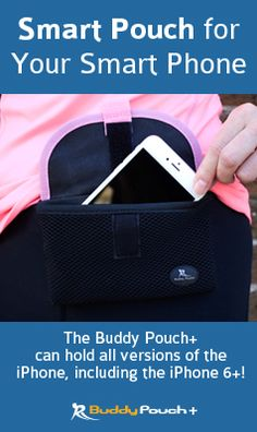 No Belt, Band or Bounce! Water-Resistant, Multi-Pocket, Magnetic Pouch. Perfect pouch for the iPhone 6, 6+ & Galaxy phones, keys, inhalers, & more! See Why This Magnetic Pouch is Replacing Belts & Armbands for Runners.