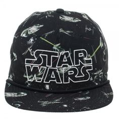 768a15732333e6 Star Wars All Over Print 5 Panel Slouch Snapback. GEARSMACK · Hats