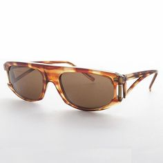 268596a9338 Flat Top Low Rider Hip Hop Men s Vintage Sunglass -CRUISER Brown Flats
