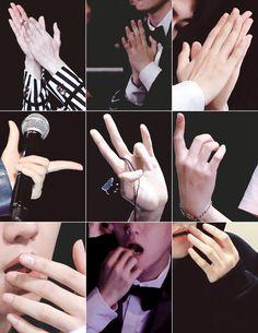 baekhyun's pretty hands