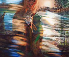 """My Joy Is The Joy Of You All""  oil on canvas, 100x120cm, 2015 Adrienne Egger"