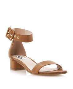 We adore these Dune Frann Two Part Block Heel Sandals, now £59!
