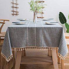 """90/"""" X 90/"""" Square Table Housse en Tissu de Lin Mariage salle à manger décor UK"""