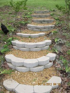 Rock Pathways 12 backyard rock pathways to die for | gardens, outdoor living and