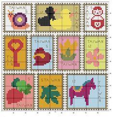 lots of free cross stitch patterns