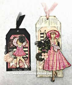 Andara and Camille Doll Tags
