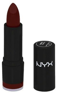 (NYX Extra Creamy Lipstick - Chaos - oz) I like the dark red Kiss Makeup, Love Makeup, Hair Makeup, Makeup Lips, Perfect Makeup, All Things Beauty, Beauty Make Up, Velvet Teddy Mac, Mascara
