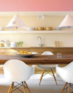 1000 images about dining room esszimmer on pinterest euro panton chair and eames. Black Bedroom Furniture Sets. Home Design Ideas