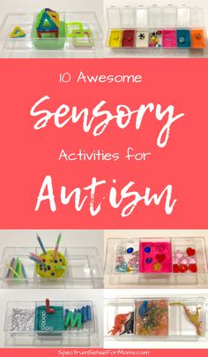 These little kits are absolute lifesavers! My kids love these sensory activities for autism, and they are great for improving fine motor skills and strengthening little hands.