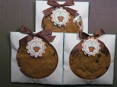 Bake Sale Ideas.  CD Envelopes for Cookie Packaging.