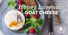 Honey-Lavender Goat Cheese