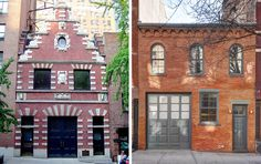 Carriage houses at 149 E. 38th St and 22 Jane Street
