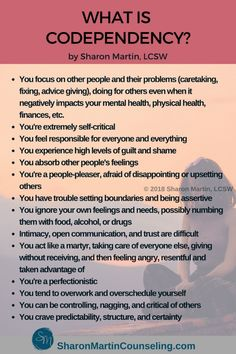 codependent spouse symptoms