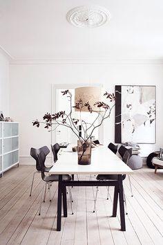 Fabulous Home of Hanne and Søren Berzant | Interior Design Files  #inzerior #living #home  http://www.cocos-philosophy.de