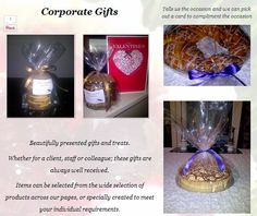 Corporate Ideas Edible Gifts, Corporate Gifts, Compliments, Perfume Bottles, Presents, Valentines, Treats, Touch, Pure Products