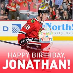Happy Birthday to our Captain, Jonathan Toews! #Blackhawks