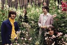 """Beatles, St Pancras churchyard, """"Mad Day Out"""", 28/07/1968. One of my favourite images of all time. And I love that it was a Friday."""